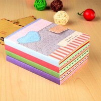 Min.order is $5 New Arrival Love Pattern Note Book Notepad Memo Pad Diary Books Notebook