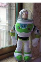 32cm  Buzz Lightyear Doll Soft stuffed plush + PVC Toy for children kids gift one piece  free shipping