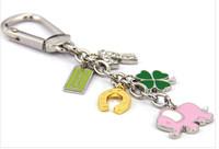 TOP quality elephant key chains with original logo box