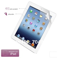 High quality diamond screen protective film for Apple iPad2 iPad3 iPad4 free shipping