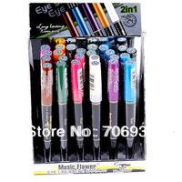 Matte Eyeshadow Eye Shadow pigment 24pcs 12 colors 2In1 Waterproof Long Lasting Eyeshadow Pencil Emerald Micre M2027