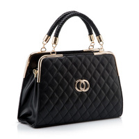 2014 new arrival fashion elegant high quality PU women handbag 4colors Free shipping