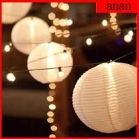 Lot of 10pcs Free Shipping 30CM Chinese Paper Lanterns Balloon lanterns Wedding Party Home & Festival Hanging Decoration Fiesta