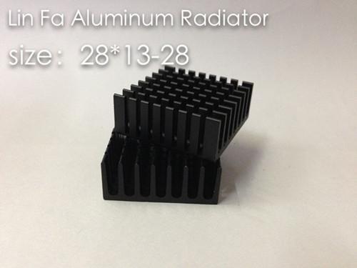 Quality heatsink,Chipset Cooler,aluminum heat sink 28*28*13mm(China (Mainland))