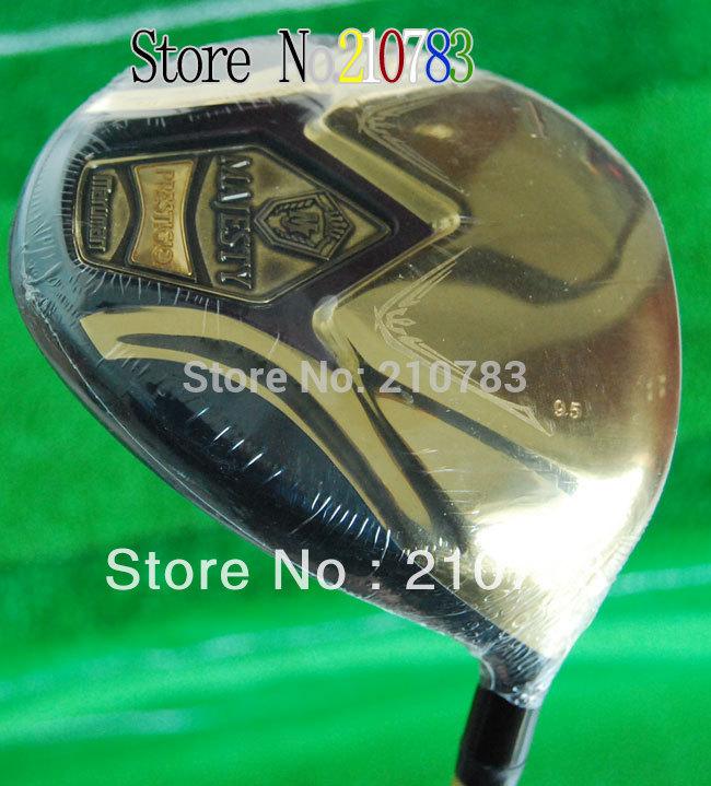 New Golf Clubs Maruman Majesty Prestigio Super7 Golf Driver 9.5/10.5 Club Graphite Shaft With Golf wood Headcover Free shipping,(China (Mainland))