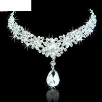 A022 Crown Tiara Elegant Rhinestone crown Crystal   bridal hair Jewelry Wedding Bride Party B18