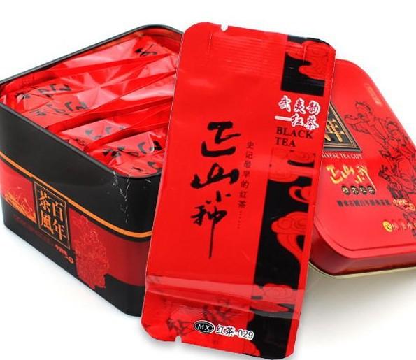 Top Grade140g lapsang souchong black tea Gift packing Chinese tea Health care Weight Loss Fragrance Organic Food Free shipping(China (Mainland))