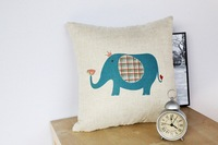 Elephant creative wedding home ornament pillow case cushion cover min1lot/2pcs promotion love gifts