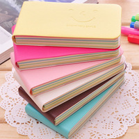 Min.order is $5 Korea Stationery Smiley Mini Memo Pad Notepad Diary Notebook School Promotion Gift