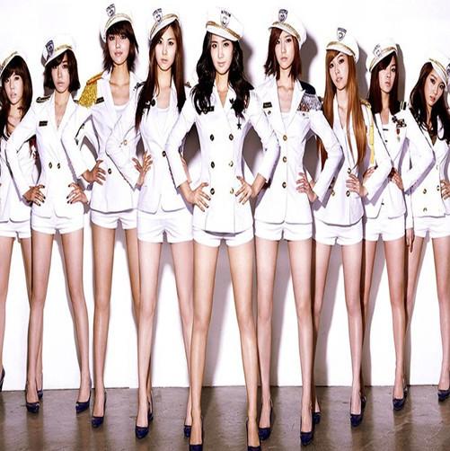 Uniforms White White Navy Uniforms