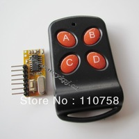 ASK Super-heterodyne rf transmitter and receiver module latch opener receiver module 433.92mhz transmitter receiver module