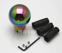 Free Shipping MOMO modified gear head / metal rehearsal stopper / manual gear stick head / Colorful header