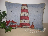 Series cushion lumbar pillow lighthouse car pillow