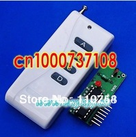 DC5V 4CH Transmitter Receiver Module Wireless Remote Control System IC 2262 & 2272 Momentery Latched 315MHZ/433mhz