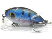 Fishing Lure Crankbait Hard Bait Fresh Water Shallow Water Bass Walleye Crappie Minnow Fishing Tackle C152X14
