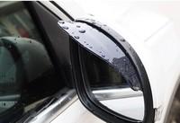 Free Shipping Car Rain Shield Flexible Car Rear Mirror Guard Rearview mirror Rain Shade