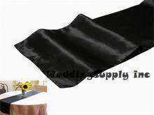 wholesale black table runner