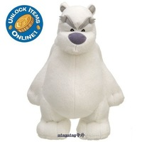 Free shipping Club Penguin Plush Toys Limited Edition Herbert polar bear plush 25cm toys for children