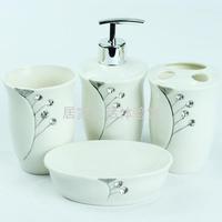 Diamond ceramic bathroom four piece set 56.6 shukoubei set