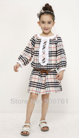 Children dresses girls princess , Baby girl dress , Toddler girl dress ,children dress, Free Shipping 2014 Children Plaid dress