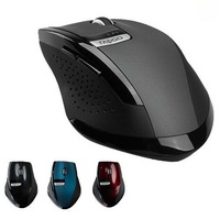 New 2.4GHz Rapoo 3200 Ergonomic USB Wireless  Mouse mice Optical Mini Adapter 10M Distance Allowed