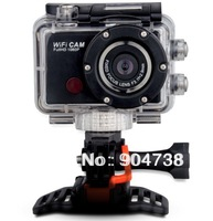 5.0MP Full HD 1080P 30fps Wifi Sport Camera Action Cam with smart phone (Android and IOS) Underwater Action Mini DV Camcorder
