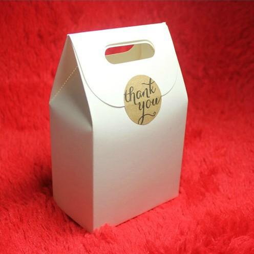 Free Shipping New Arrival Zakka White Kraft Paper Bag Wedding Decorate Box DIYGift Package Paper Box Nut Package Box 6*10*16CM(China (Mainland))