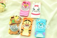 retail new arrival tiger Monsters Inc. Sulley Marie Alice Cat slinky dog silicone rubber cases covers to iphone4 4s 5s
