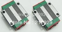 HIWIN 20mm Linear rail guides Block 2pcs HGW20CA