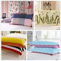 Pillowcases  home textile twill print envelope-type cotton pillow case pillowcase pillow cover wholesale retail free shipping