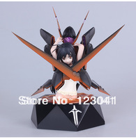 Box Package High Quality Japanese Anime Accel World Black Serena PVC Action Figure Model Toys
