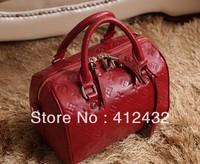 2014 new luxury fashion brand genuine leather bag women handbag casual plaid shoulder bag vintage messenger bags  free shipping