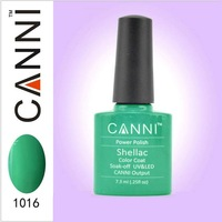 New Arrival Soak Off UV/LED Nail Gel Canni shellac gel polish Fashion Color gel base gel top coat  /Singpost ship