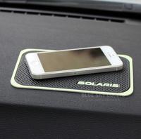 For New with Solaris letter!HYUNDAI Solaris verna 3d Rubber car anti slip mat, non-slip mats Interior mat for  accessories