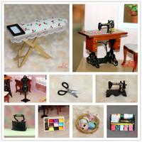 MIN CLUB- Dollhouse doll house model mini 60036 crafts