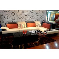 L-shaped living room fabric corner sofa bed emphasis on comfort humane large handle sofa pure velvet sofa
