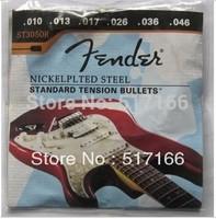5 sets ST3050R (.010-.046) NICKEL PLATED STEEL STANDARD TENSION 1st-6th Electric Guitar Strings