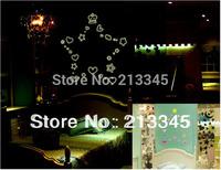 [Saturday Mall] - Korea Design DIY fun cartoon cute Pentagram Heart luminous stickers kids room wall decor decals removable 0010