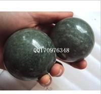 Natural jade jade health ball fitness ball handball Lushan green handball