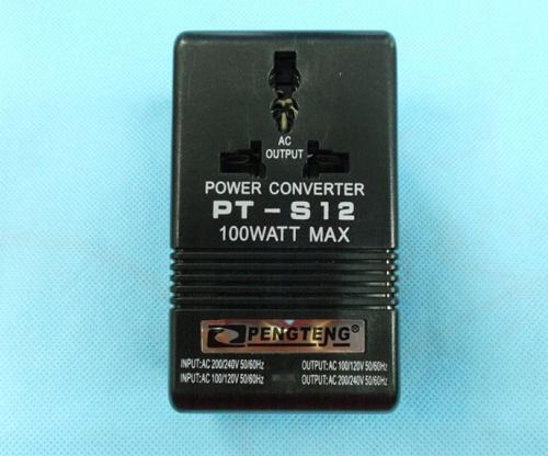 Free Shipping Voltage Converter 220V To 110V Travel Power Transformer Regulator Adapter 100W H(China (Mainland))