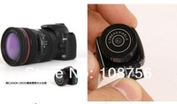Free shipping Y2000 the smallest Mini HD Video Camera with 10 pcs/lot with retail box