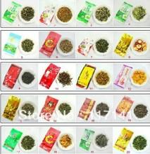 10 Kinds Flavors 100g Chinese tea Tieguanyin Dahongpao Oolong tea Ginseng Wulong Jasmine Black green tea