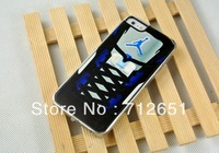 2014Hot New 15pcs/lots hot wholesale Jordan shoes white case cover for iphone 5 5G  + free shipping