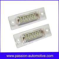 18SMD LED License plate Lamp Light For Skoda Superb 02-08 Volkswagen VW Touran Passat Jetta Touran Transporter