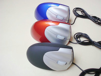 Free Hongkong Post optical Ergonomic Vertical Mouse Vertical wired mice laptop engineering alleviate wrist fatigue