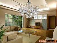 Modern crystal pendant light living room lamps glass pendant light quality pendant light crystal lighting