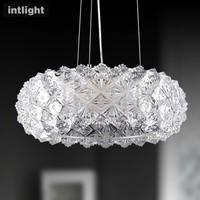 Pendant light modern lamp brief bedroom lights lamps study light circle lighting