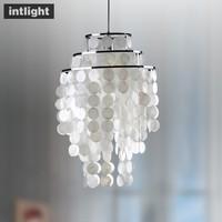 Bedroom lamp restaurant lamp entranceway bar lamp lighting lamps modern pendant light shell lamp
