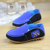 free shipping 2014 new   spring child Moccasins boys girls kids child princess  leather casual shoes baby shoes