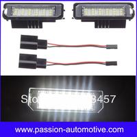 Error Free 24SMD Led License Plate Light Lamp for Volkswagen Golf GTI EOS Passat CC Polo Phaeton